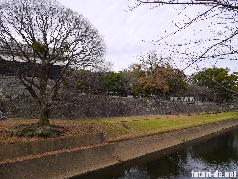 熊本県 熊本城 復興見学ルート 長塀