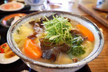 熊本県 亭ノ元 だご汁 熊本郷土料理 だご汁定食