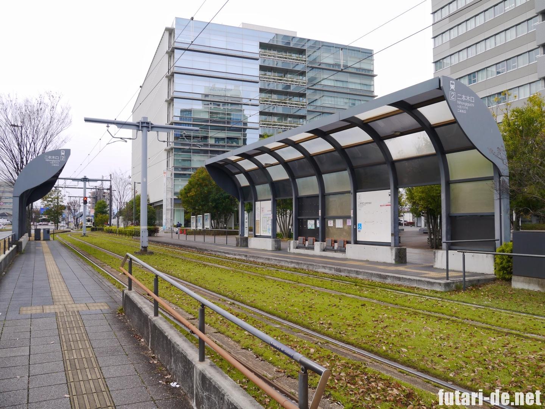 熊本県 熊本ラーメン 黒亭 二本木口 路面電車