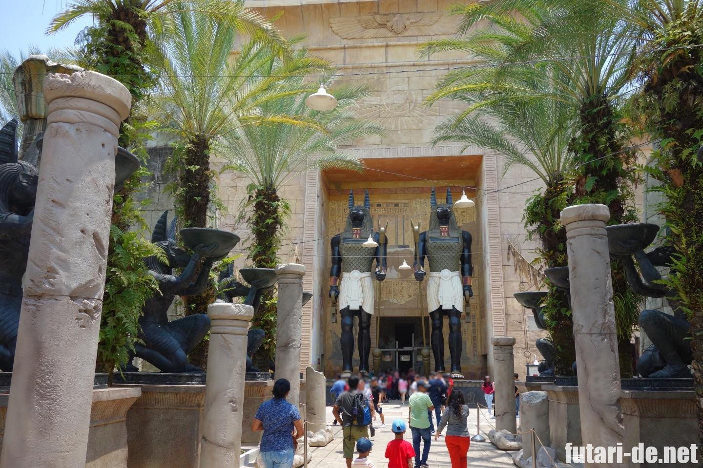 ユニバーサル・スタジオ・シンガポール セントーサ島 古代エジプト リベンジ・オブ・ザ・マミー