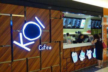 シンガポール KOI Cafe タピオカミルクティー