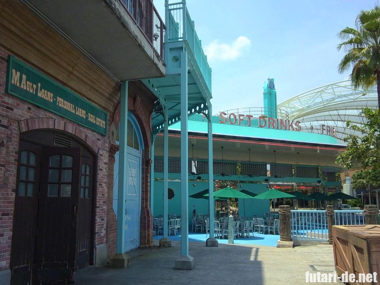 ユニバーサル・スタジオ・シンガポール セントーサ島 Mel's Drive-in
