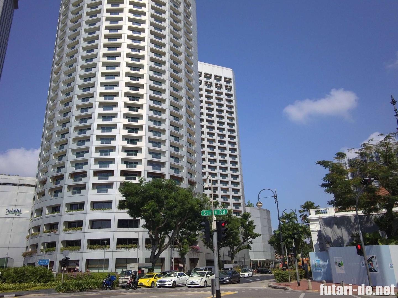 シンガポール ラッフルズホテル カトン バス