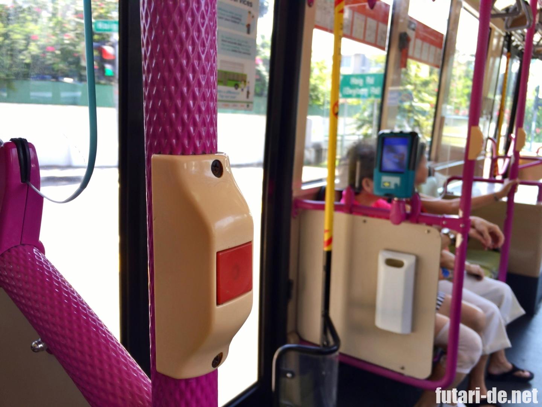 シンガポール カトン 市内バス
