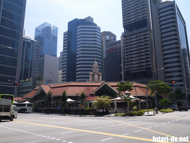 シンガポール ホーカー ラオパサフェスティバルマーケット Lau Pa Sat Festival Market ラオパサ