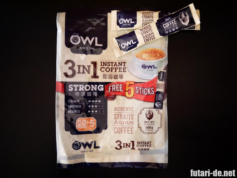 シンガポール VIVOMART OWL スティックコーヒー