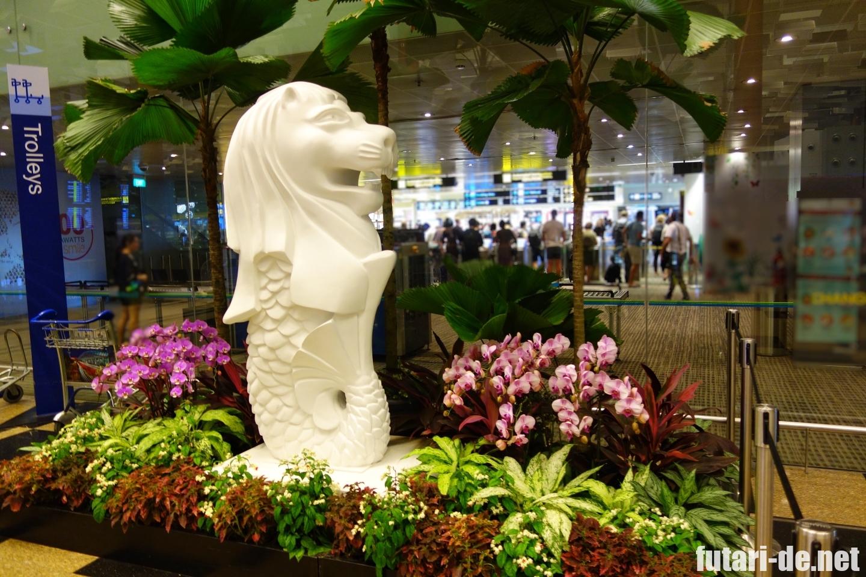 シンガポール チャンギ国際空港 ターミナル3 出発ロビー