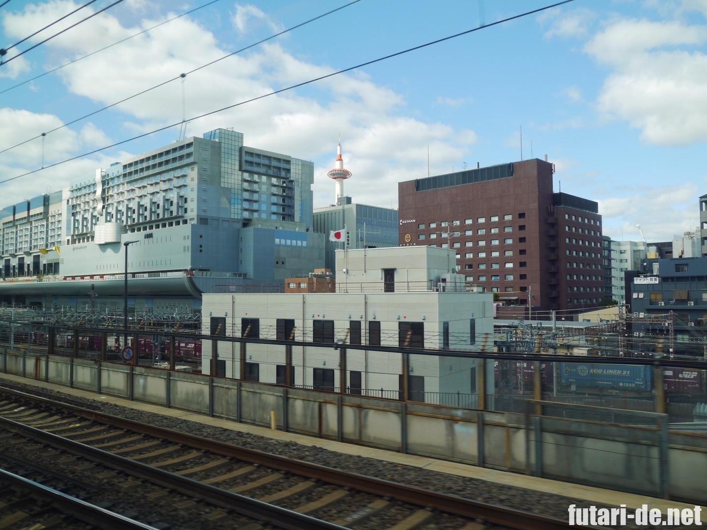 東京駅 東海道新幹線 新大阪 のぞみ  京都