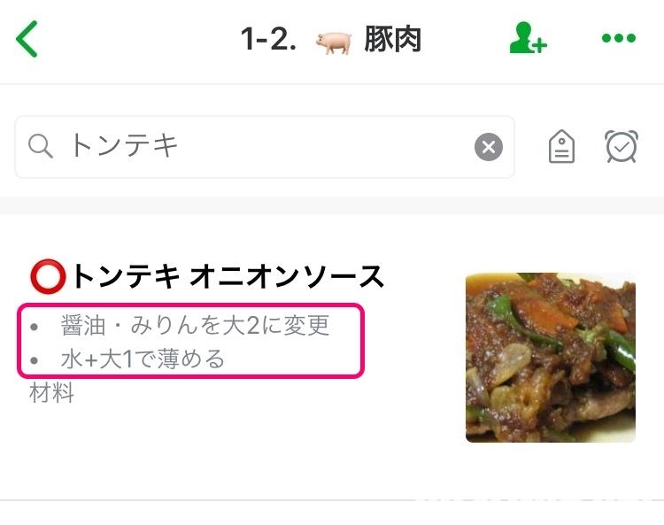 レシピ Evernote レシピ集