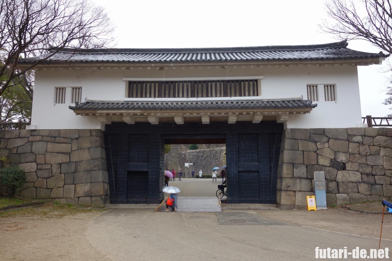 大阪 大阪城 青屋門