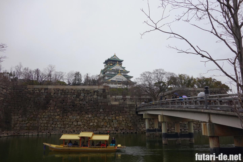 大阪 大阪城 天守閣 御座船