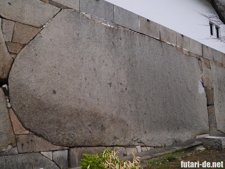 大阪 大阪城 大手門 大手口枡形 巨石