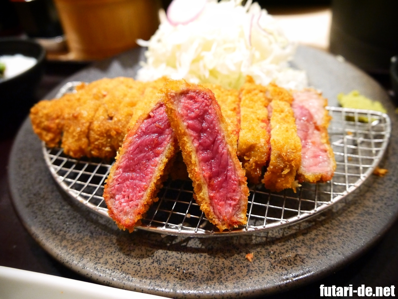 大阪 ユニバーサルシティ 京都 勝牛 牛ロースカツ京玉膳