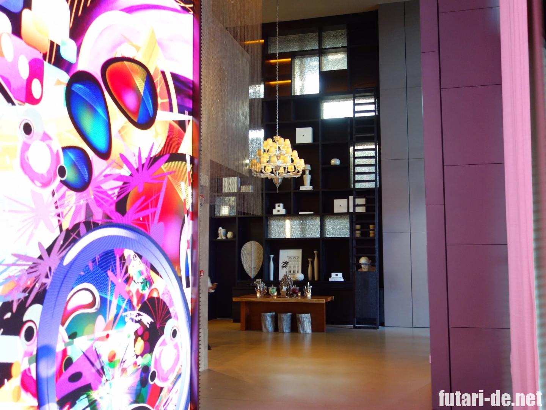 シンガポール JWマリオット・ホテル・シンガポール・サウスビーチ エントランス