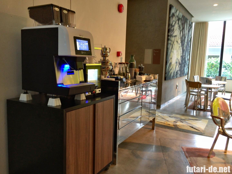 シンガポール JWマリオット・ホテル・シンガポール・サウスビーチ おやつ エグゼクティブラウンジ