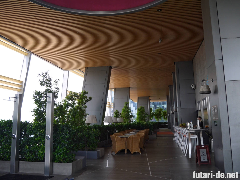 シンガポール JWマリオット・ホテル・シンガポール・サウスビーチ プール