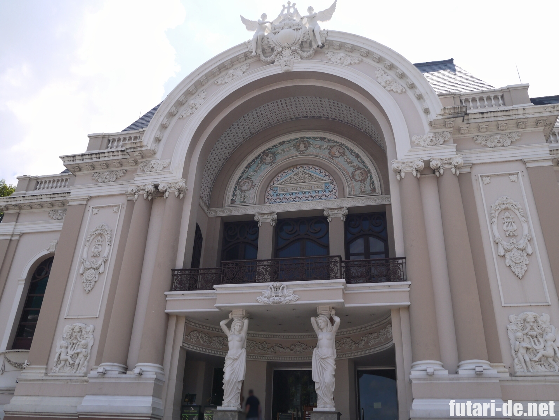 ホーチミン サイゴン・オペラハウス ホーチミン市民劇場 ホーチミン歌劇場