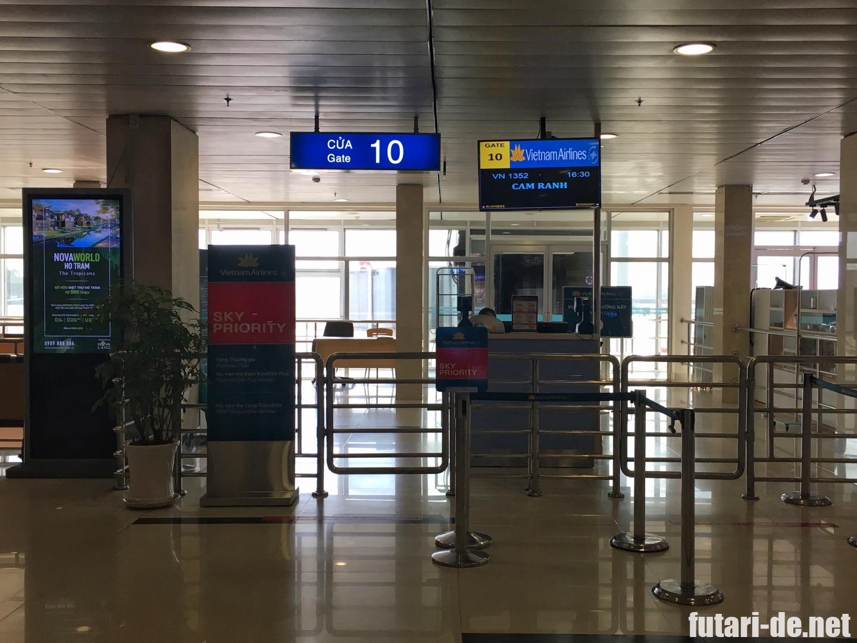 ベトナム ホーチミン 国内線 タンソンニャット国際空港
