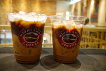 ベトナム ホーチミン ハイランズコーヒー Highlands Coffee