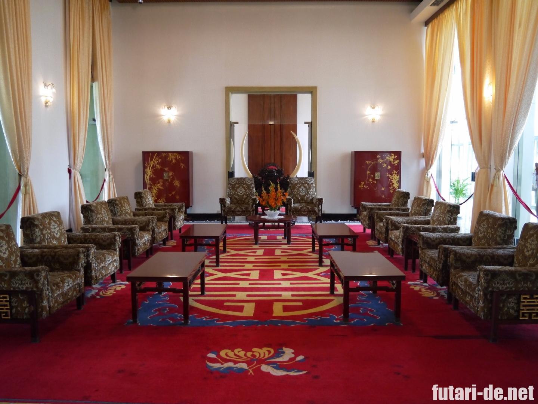 ベトナム ホーチミン 統一会堂 旧大統領官邸