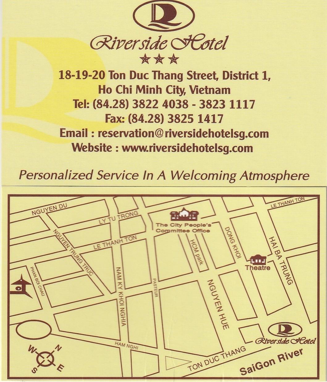 ベトナム ホーチミン リバーサイド・ホテル