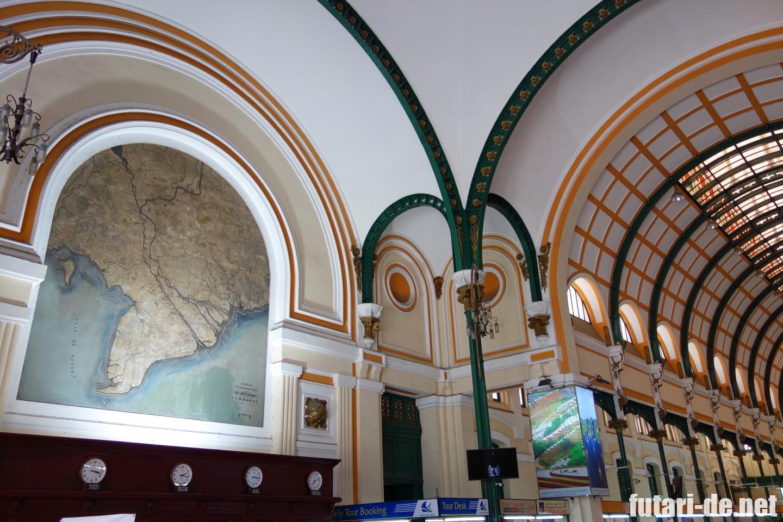 ベトナム ホーチミン サイゴン中央郵便局