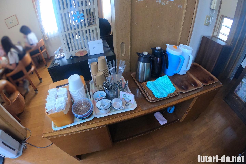 神奈川県 鵠沼海岸 埜庵 のあん かき氷 2階