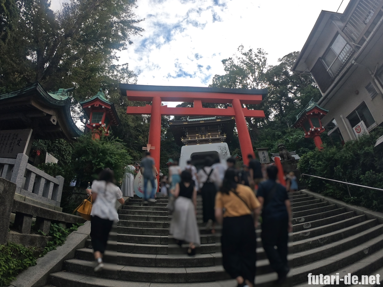 神奈川県 江の島 江島神社
