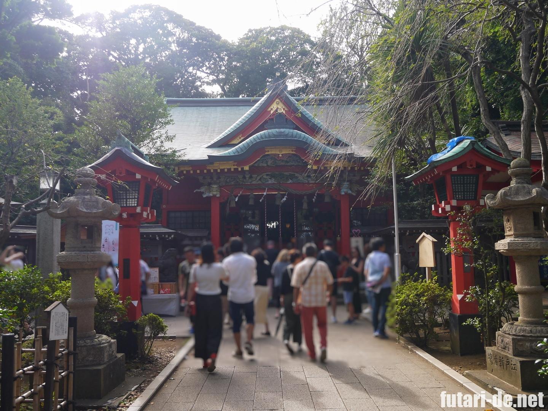 神奈川県 江の島 江島神社 中津宮
