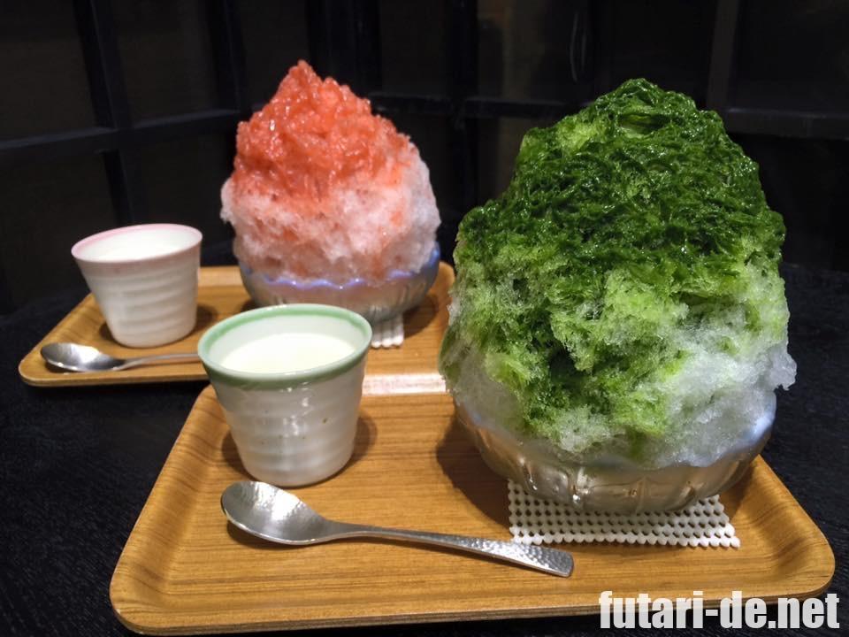 神奈川県 鵠沼海岸 埜庵 のあん かき氷