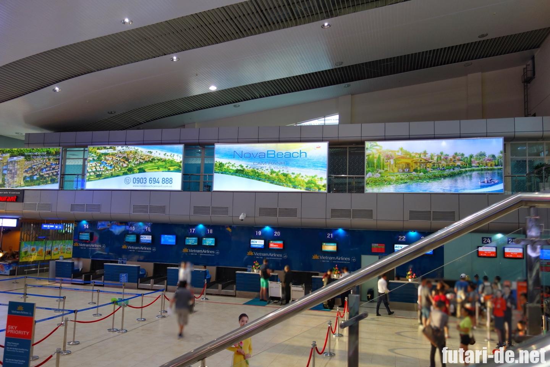 ベトナム ニャチャン 国内線 カムラン国際空港
