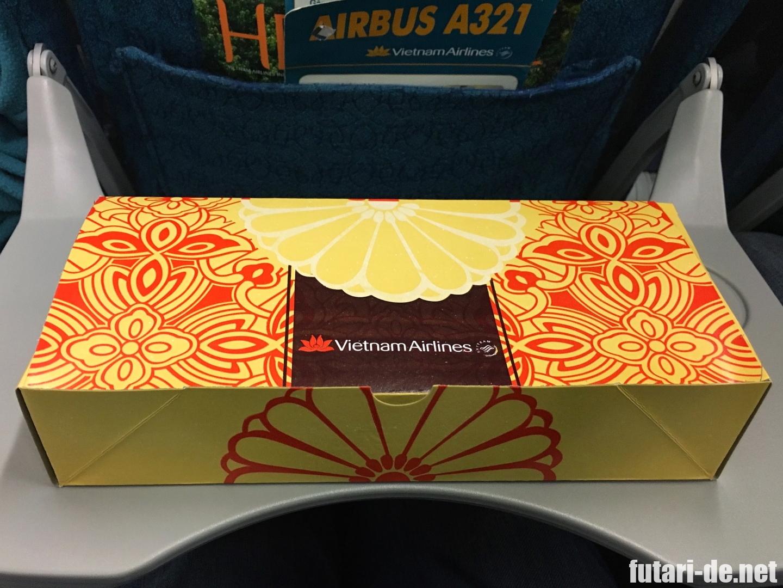ベトナム ニャチャン 国内線 カムラン国際空港 ベトナム航空 機内食