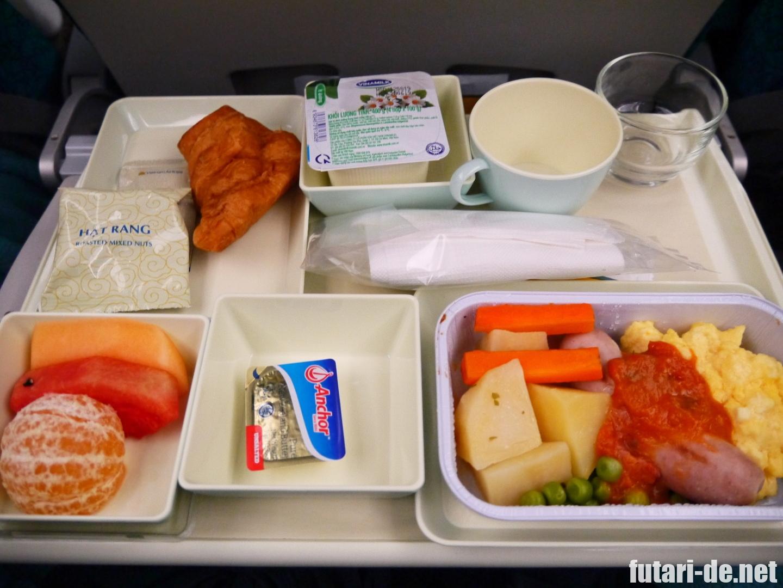 ベトナム ハノイ 国際線 ノイバイ国際空港 ベトナム航空 機内食