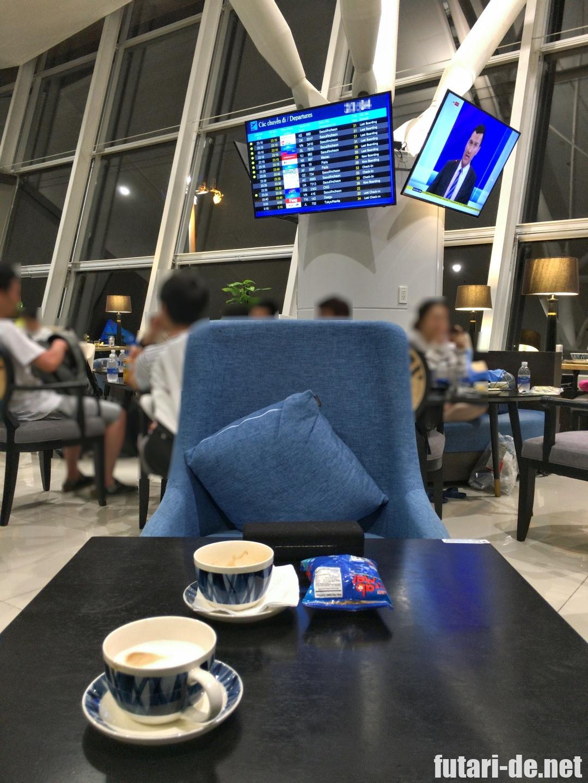 ベトナム ハノイ ノイバイ国際空港 プライオリティパス ソンホンビジネスラウンジ