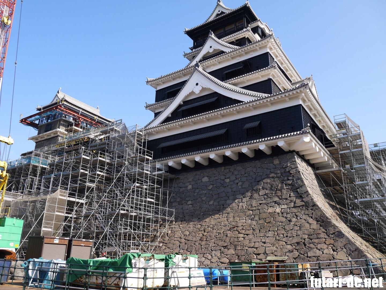 熊本 熊本城 特別公開 大天守外観復旧記念 第一弾
