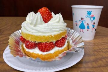 東京 神田淡路町 近江屋洋菓子店 苺サンドショート
