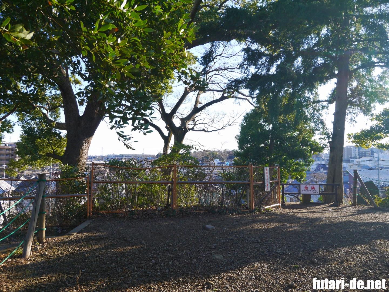埼玉県 川越市 川越城 100名城 富士見櫓跡