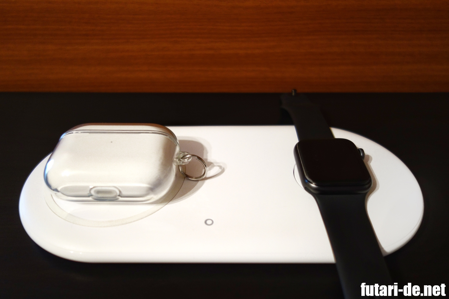 Charging AirPods Pro and AppleWatch