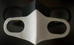 マスク ウレタンマスク ポリウレタン グレー 黒