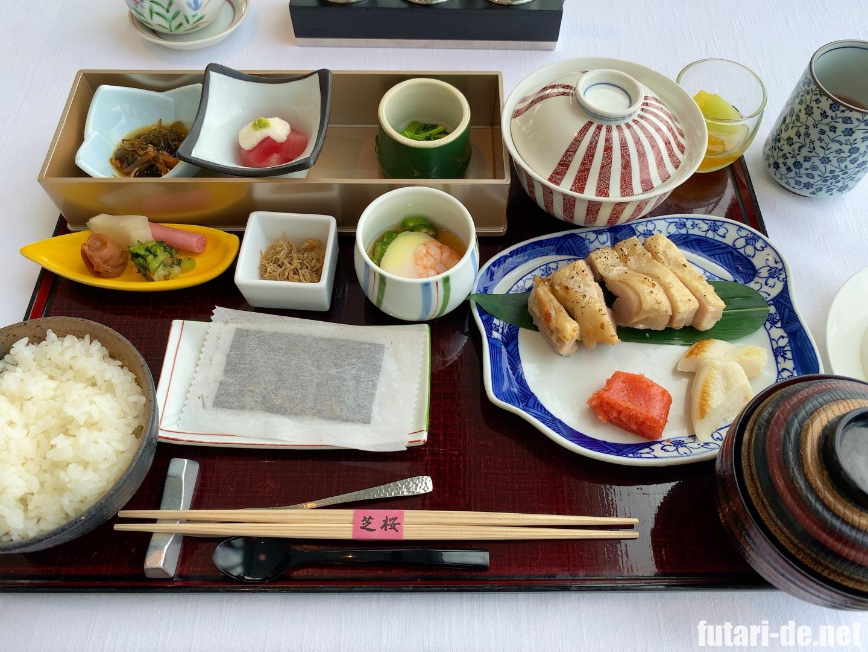 東京 ホテル ザ・プリンス パークタワー東京 レストラン ブリーズヴェール 和朝食御膳