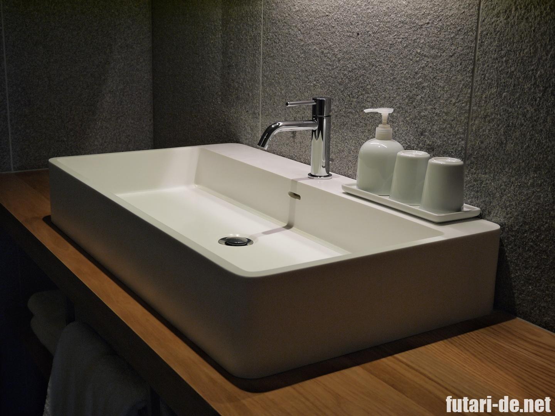 銀座 ホテル MUJI HOTEL GINZA 洗面所