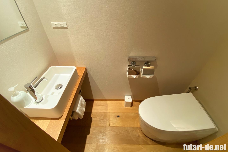 銀座 ホテル MUJI HOTEL GINZA お手洗い