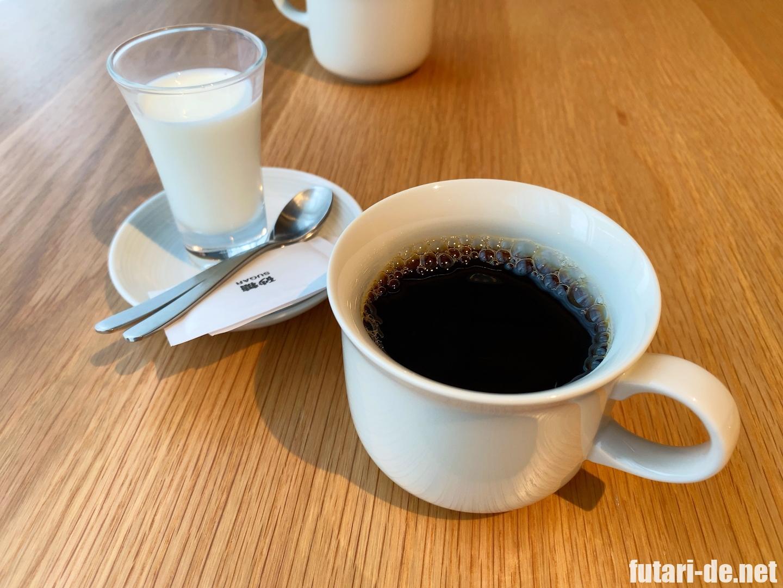 銀座 MUJI DINER 無印良品食堂 コーヒー