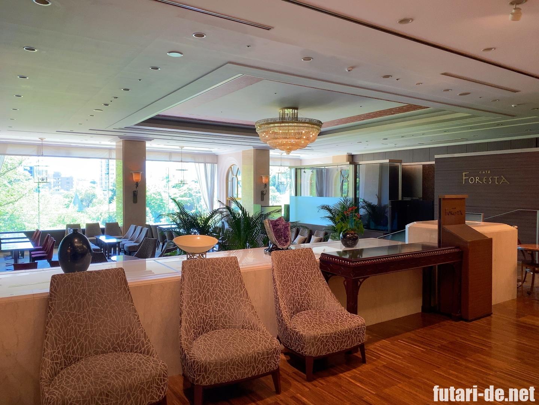 ホテル椿山荘東京 椿山荘 バンケット棟 カフェ
