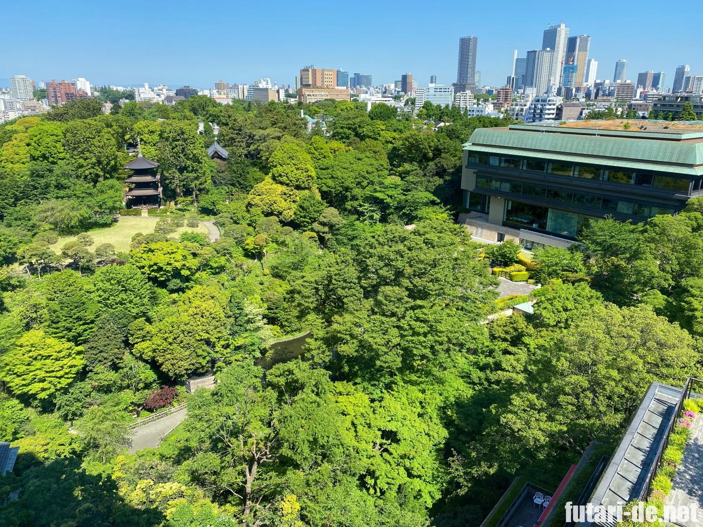 ホテル椿山荘東京 椿山荘 ホテル棟 ガーデンビュー