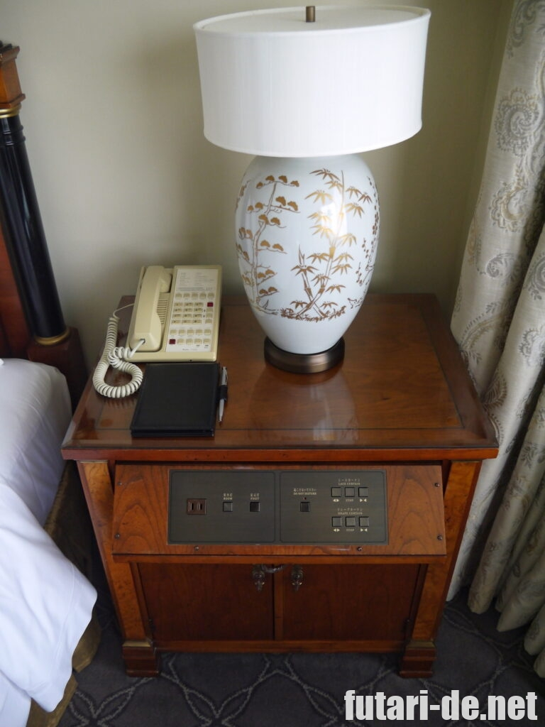ホテル椿山荘東京 椿山荘 ホテル棟 プライムデラックスガーデンスイート 寝室 ベットルーム