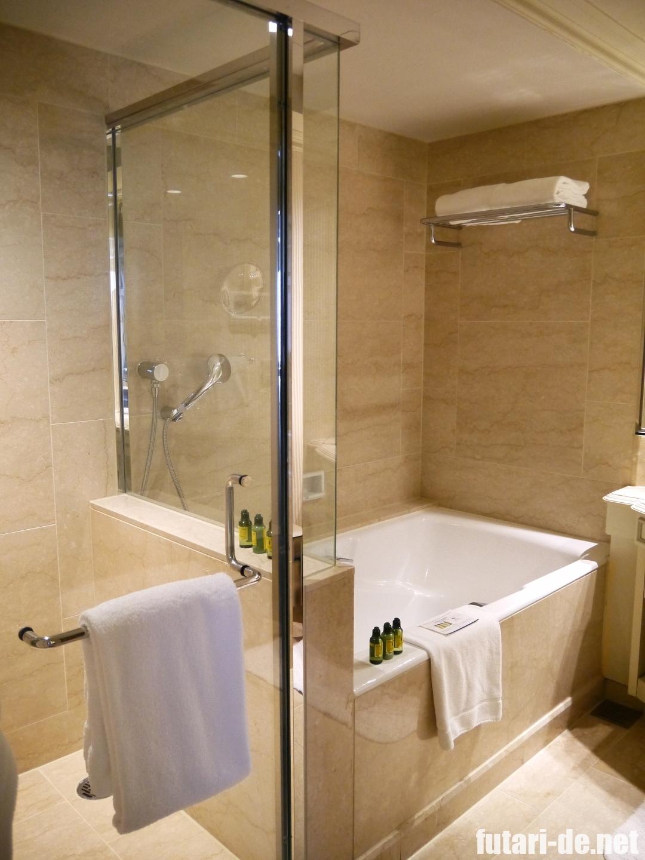 ホテル椿山荘東京 椿山荘 ホテル棟 プライムデラックスガーデンスイート 水回り