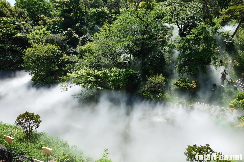 ホテル椿山荘東京 椿山荘 庭園  雲海